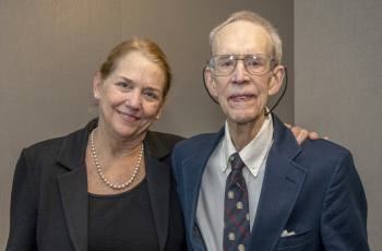 Dean Barbara L. Bass, MD with Paul Shorb, MD